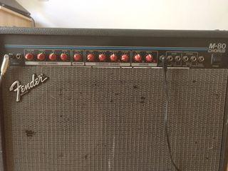 amplificador Fender M80 chorus