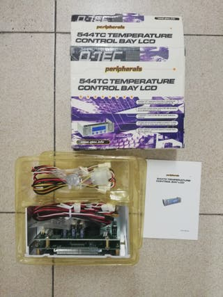 QTEC - 544TC Control de temperatura ordena LCD