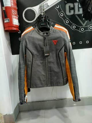 chaqueta dainese chica piel 42
