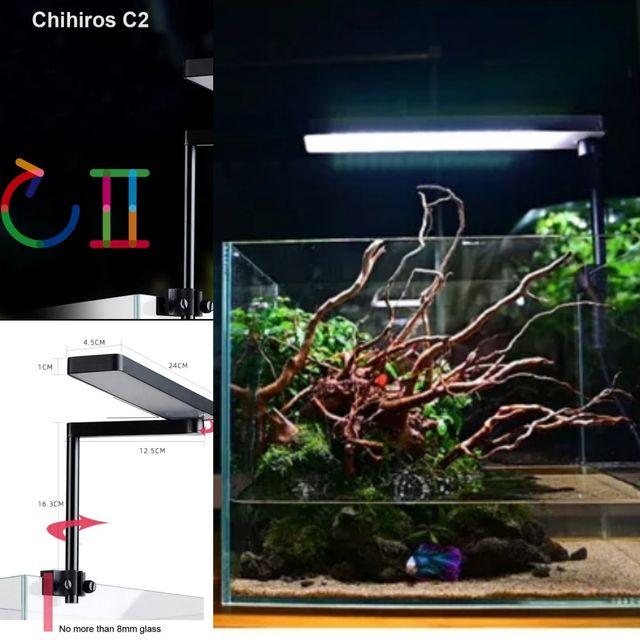 Chihiros C2 iluminación led acuario de segunda mano por 89,9 € en Barbera  del Valles en WALLAPOP