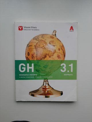 Libro Geografia e Historia 3.1 (tercero de la eso)