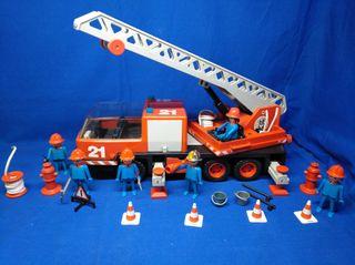 Playmobil Camión grua de bomberos REF 2487