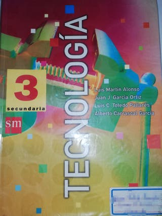 Libro de Tecnología de Tercero de ESO.