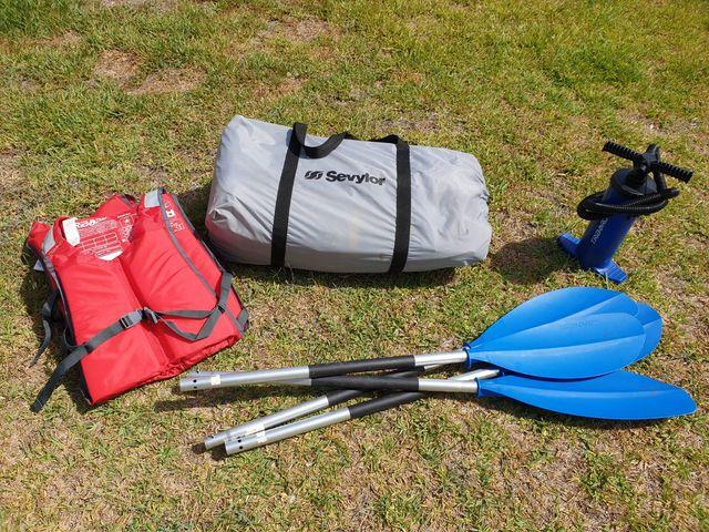 Kayak hinchable 2 plazas Sevylor Adventure