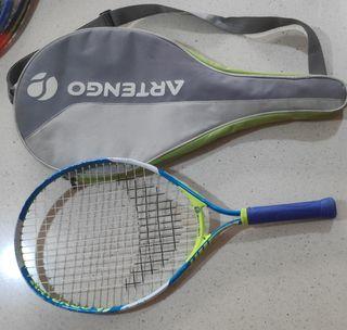 raqueta tenis niño, niña, mas funda