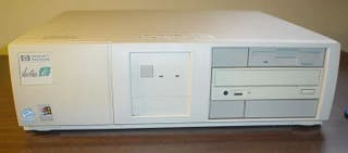 Ordenador Antiguo HP puerto ISA Windows 98