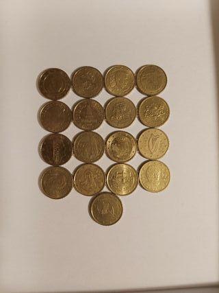 Monedas de 10 céntimos