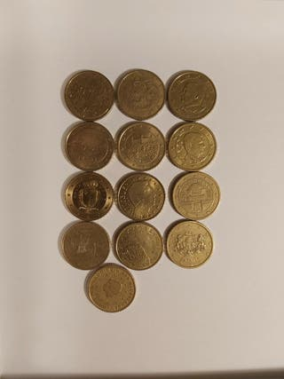 Monedas de 50 céntimos