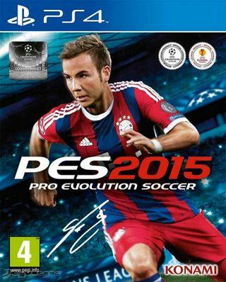 Videojuego para PS4. PES 2015.