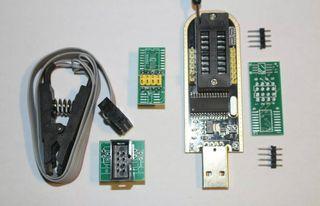 CH341A 24 serie 25 EEPROM flash BIOS Programador