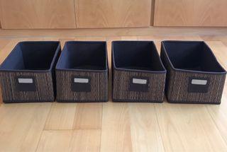 Cestas de almacenamiento de Ikea