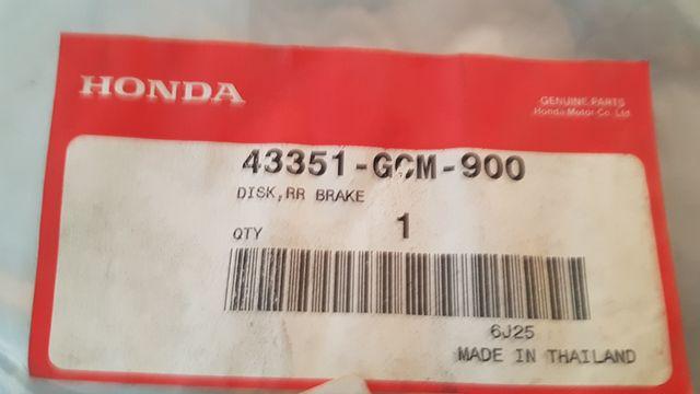 Disco freno trasero Honda X8R 50