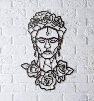 Decoracion pared Frida Khalo 30 cm