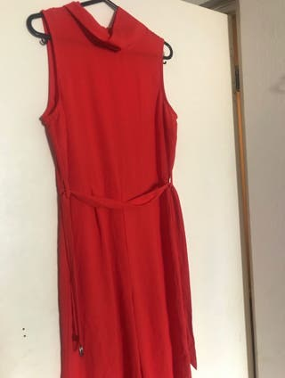 Red Jumpsuit Size 12