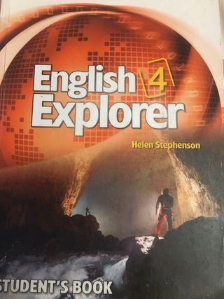 English Explorer 4 student's book + workbook