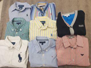 Lote camisas de marca bebé talla 18 meses
