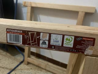 Caballetes de madera (pack de 4)
