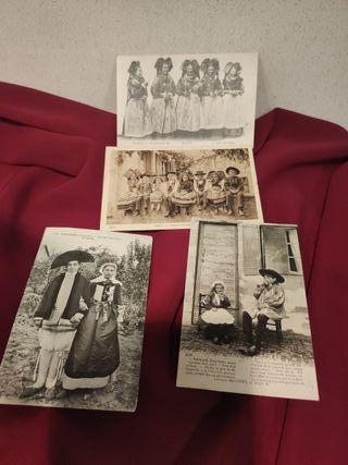 4 postales principios siglo
