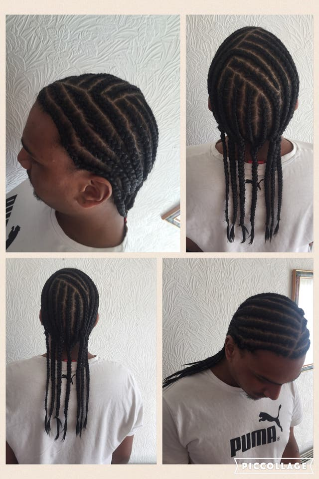 Men's hair cuts from