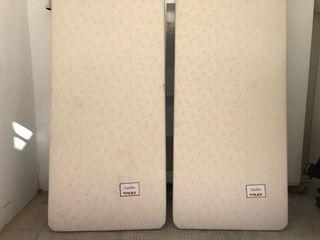 2 Somieres/ bases de Cama Flex Tapiflex 90x190