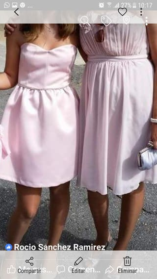 vestidos de fiesta niña S mujer M 8euros cada uno