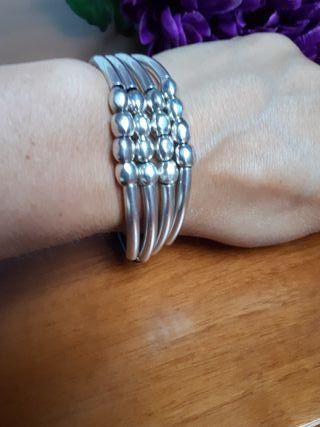 pulsera Ciclon cuero