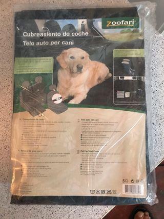 Cubre asientos traseros para el perro