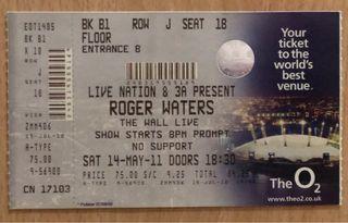 Entrada Roger Waters Pink Floyd