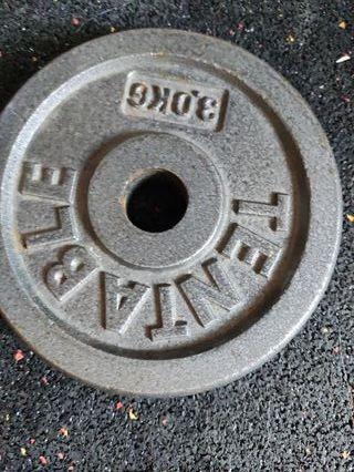 Pesa para mancuernas, pesas para gym