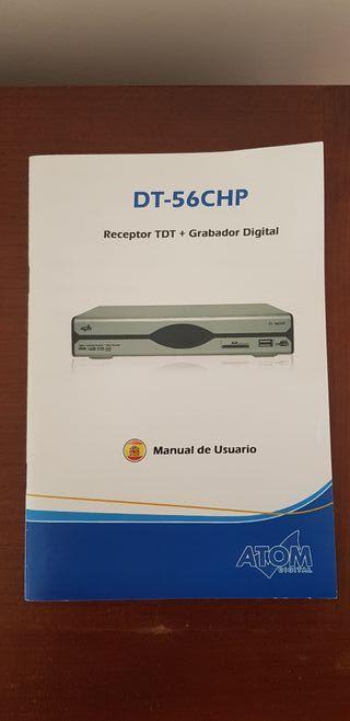 Receptor TDT + grabador digital