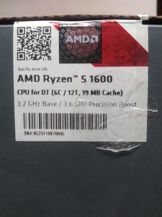AMD Ryzen 1600