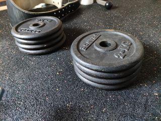 Pack de pesas de 2KG para GYM