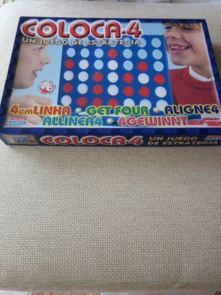 Juego de mesa COLOCA 4