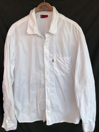Camisa blanca manga larga LEVIS talla XL