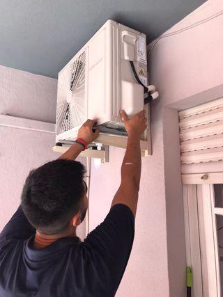 Instalador de aire acondicionado en Málaga