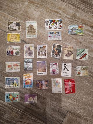 60 sellos España