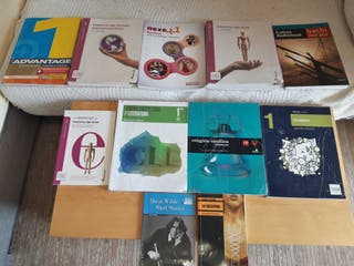 Libros 1° Bachillerato Artes Colegio La Salle