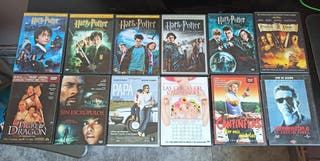 Películas DVD: Harry Potter, Terminator 2,...)