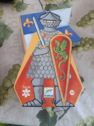 Puzzle le chavelier au dragon