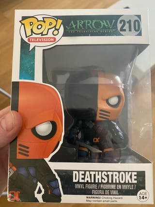 Funko pop deathstroke #210