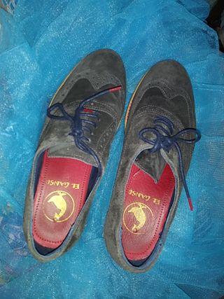 Zapatos ante.El Ganso.
