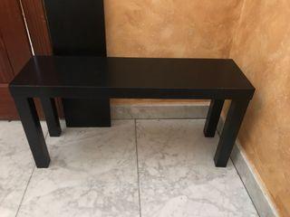 Mesa baja TV con tablero