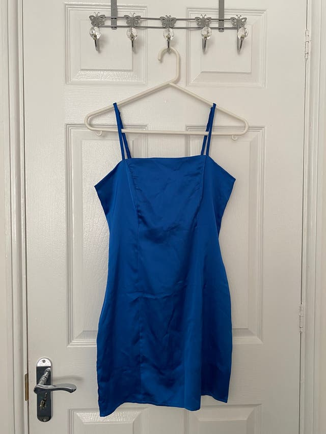 Boohoo Blue Bodycon Dress