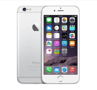 Iphone 6 plata 64g