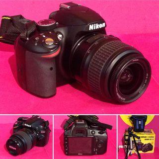 CAMARA REFLEX NIKON D3200 + 18-55MM + ACCESORIOS