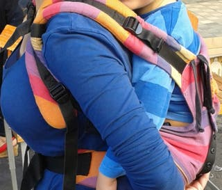 Mochila portabebé ergonómica Emei baby