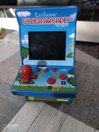 ciber arcade lexibook videojuegos