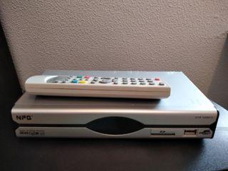 TDT con USB para multimedia y SD car