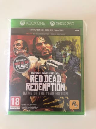 Red Dead Redemption Goty Xbox one