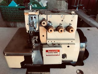 Máquina owerlok industrial de 5 hilos